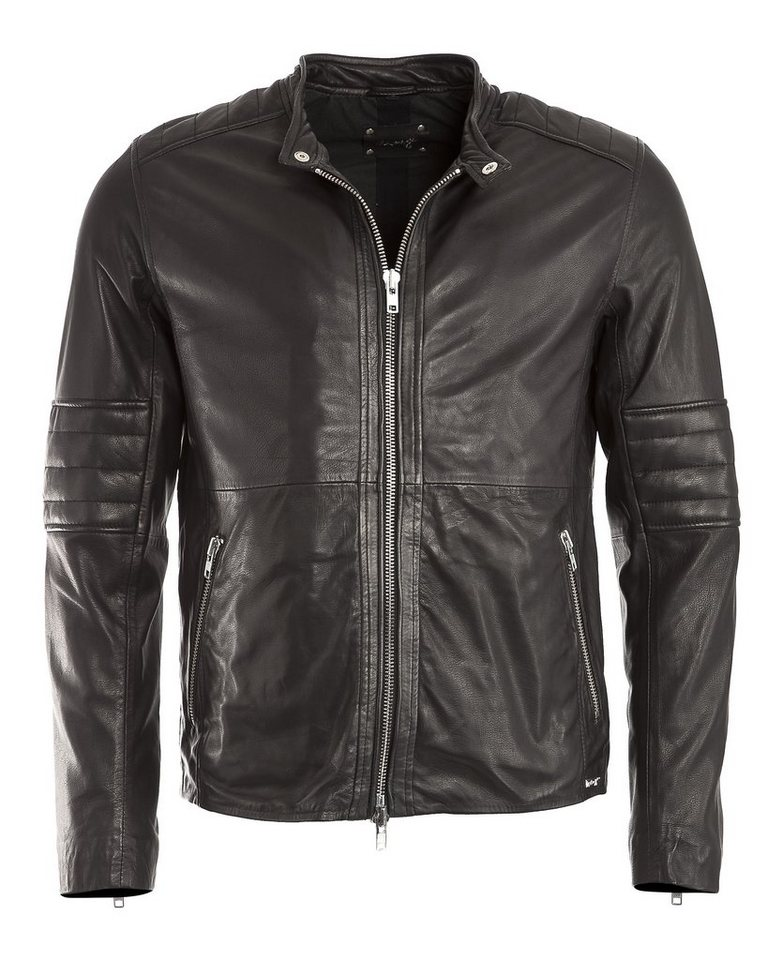 MAZE Lederjacke, Herren North in schwarz