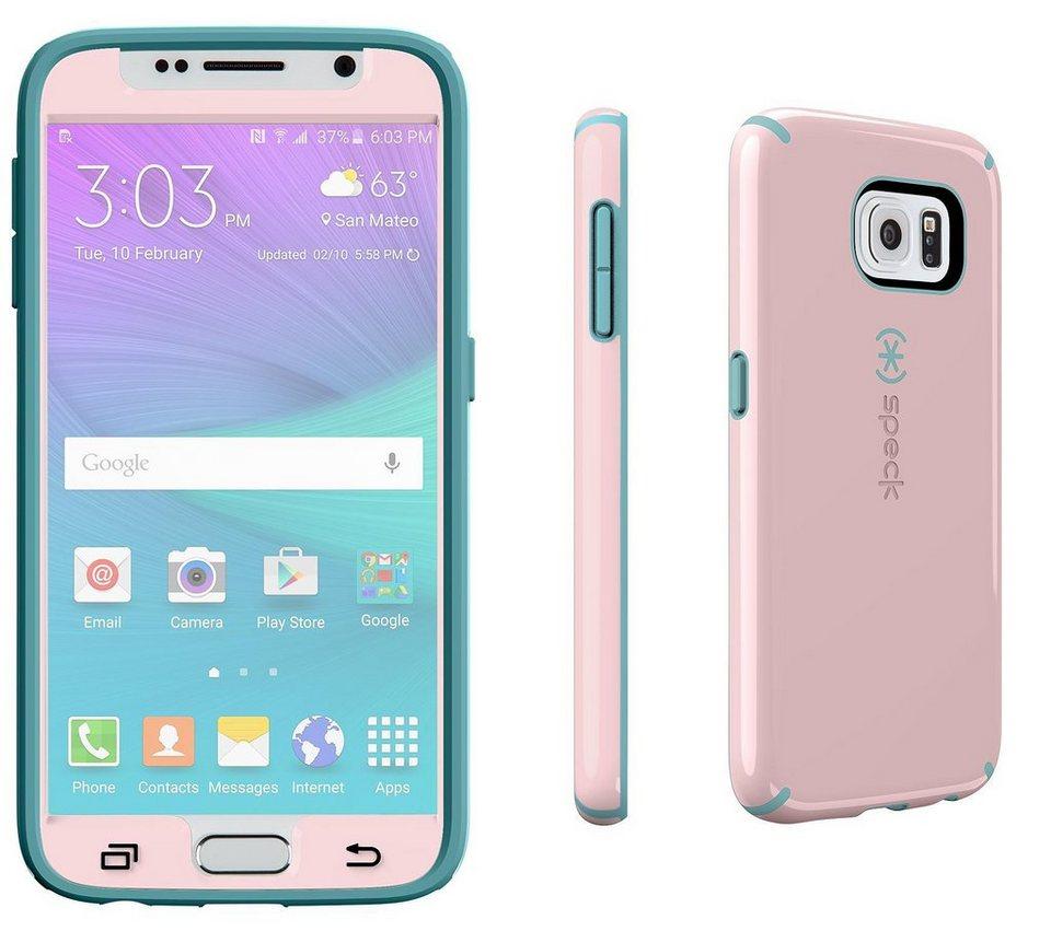 Speck HardCase »CandyShell FacePlate Samsung Galaxy S6 Quartz Pink« in blau