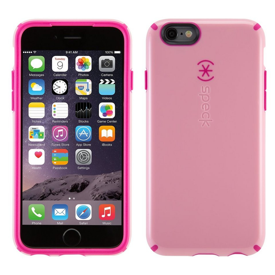 "Speck HardCase »CandyShell iPhone (6/6S) 4.7"" Carnation Pink/Lipst« in pink"
