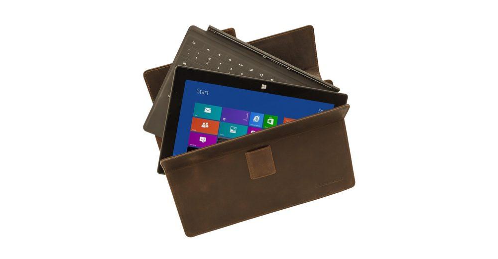 dbramante1928 LederCase »Hellerup Hunter Dark MS Surface Pro 3«