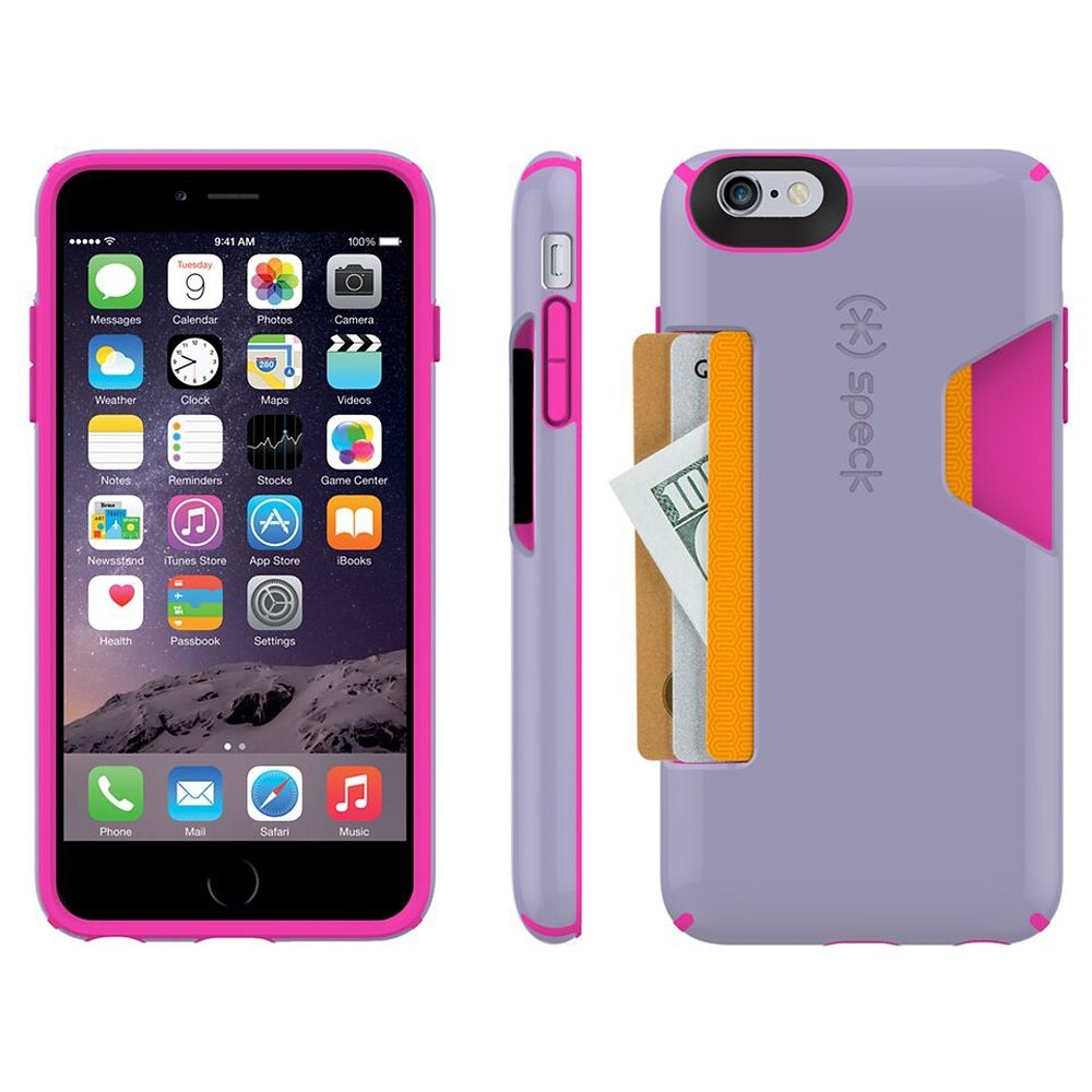 "Speck HardCase »CandyShell Card iPhone (6/6S) Plus 5.5"" Heather Pu«"