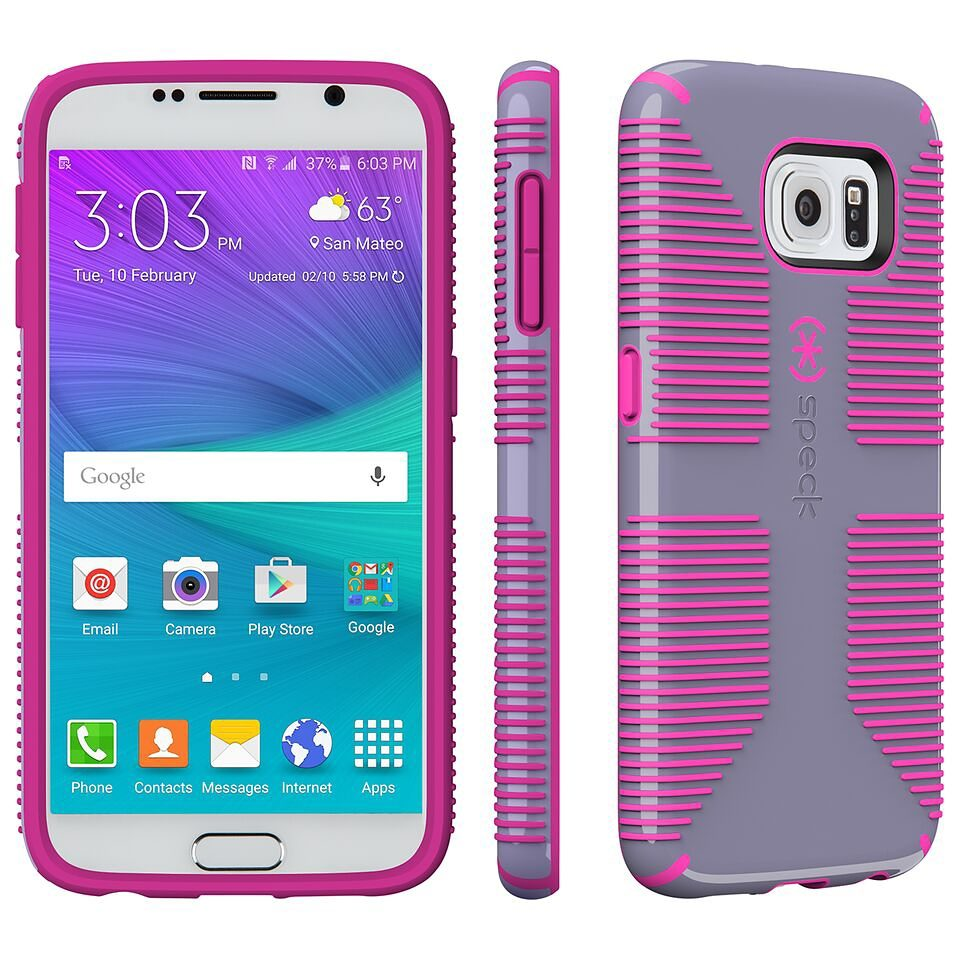 Speck HardCase »CandyShell Grip Samsung Galaxy S6 Heather Purple/S«