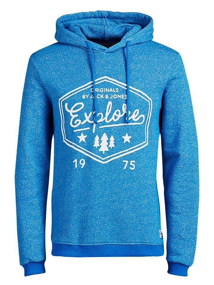 Jack & Jones Longline- Sweatshirt in Imperial Blue