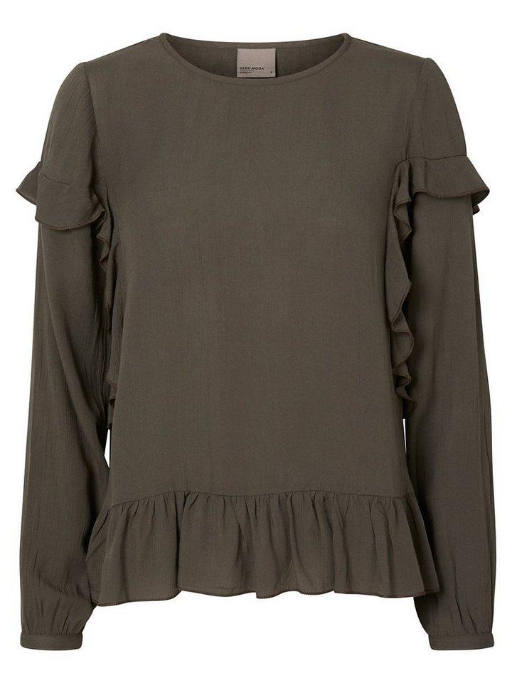 Vero Moda Detaillierte Bluse in Beluga