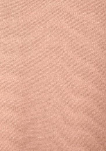 s.Oliver RED LABEL Bodywear Kurzes Nachthemd mit Spitzeneinsatz