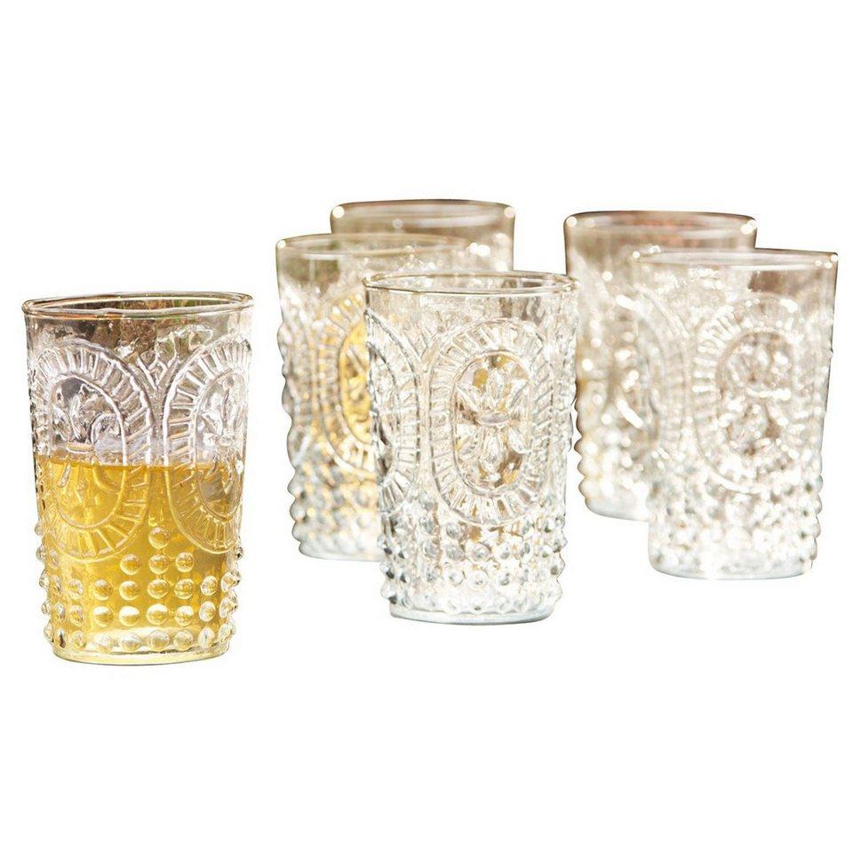 Loberon Gläser 6er Packung »Fleury« in klar