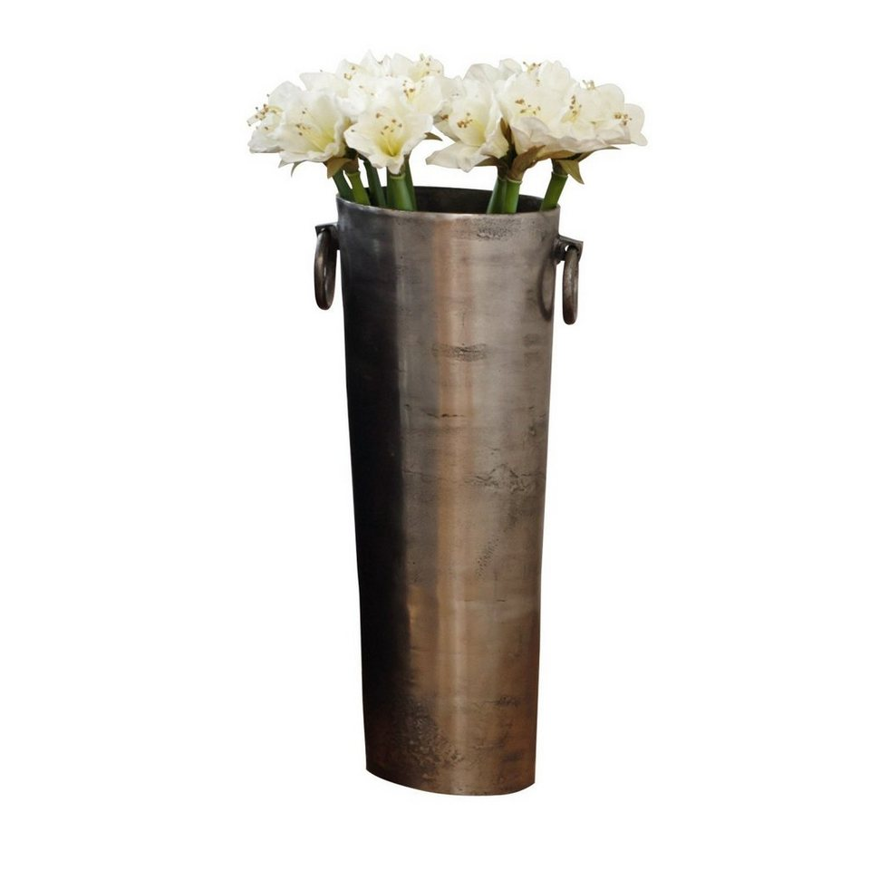 Loberon Vase »Shanice« in silber