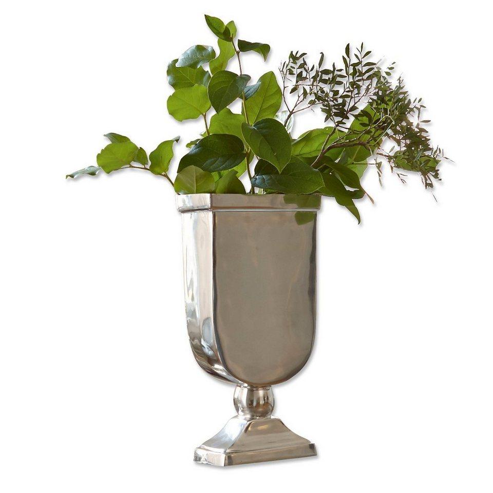 Loberon Vase »San José« in silber