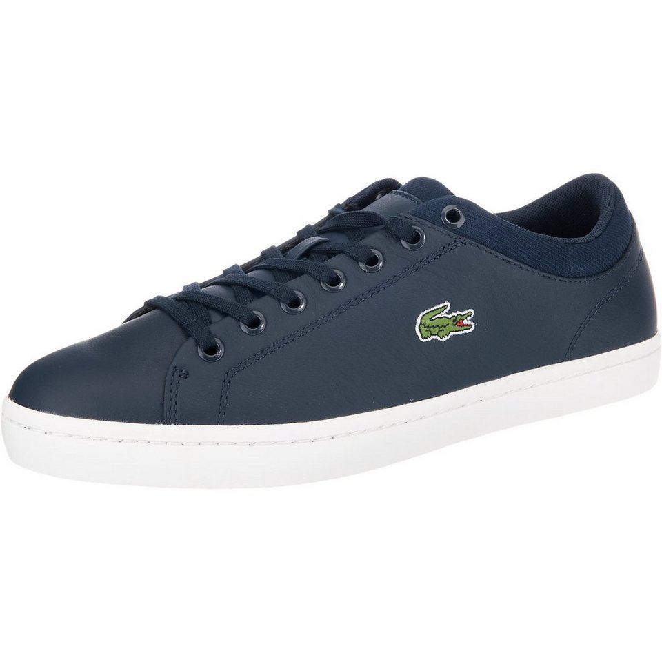 LACOSTE Straightset Sneakers in navy