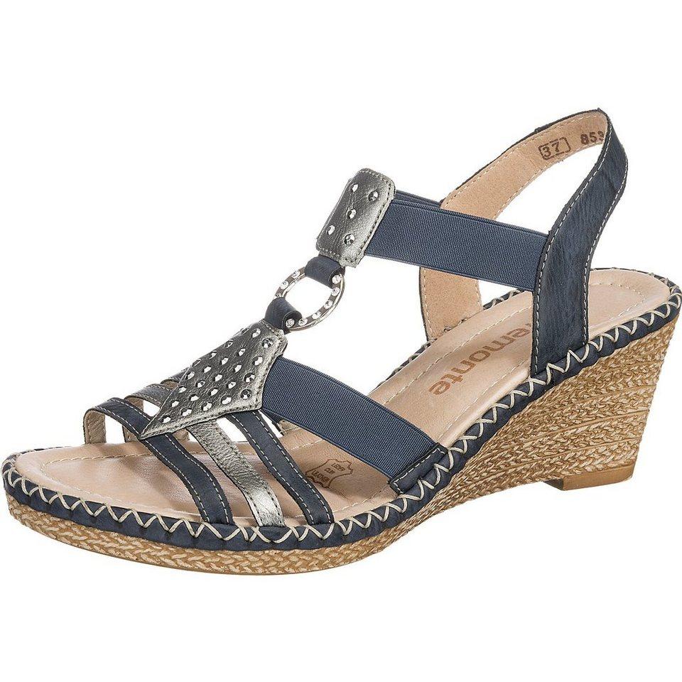 remonte Sandaletten in blau-kombi