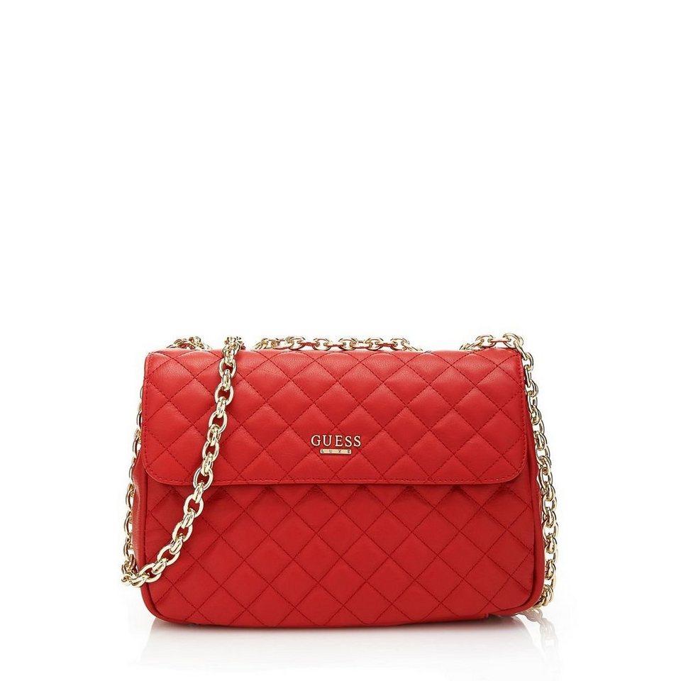Guess Tasche Schwarz Rot