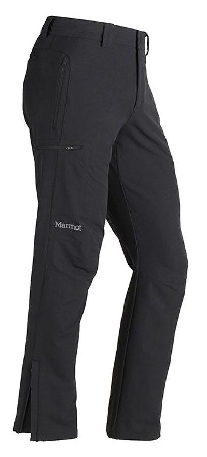 Marmot Softshellhose »Winter Scree Pant Men« in schwarz