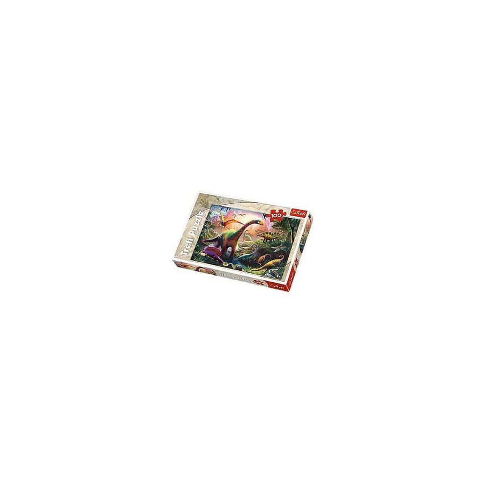 Trefl Puzzle 100 Teile - Welt der Dinosaurier