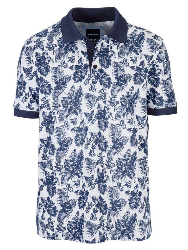 Babista Poloshirt in weiß-blau