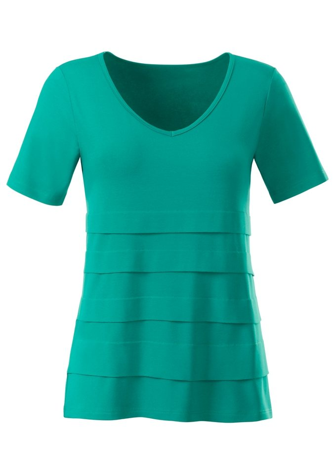 Ambria Shirt in jadegrün