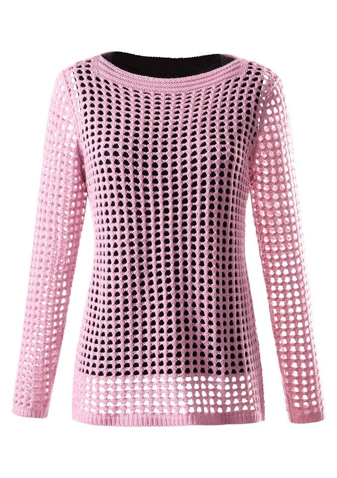 Ambria Pullover in rosé