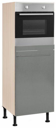 OPTIFIT Backofen/Kühlumbauschrank »Bern« 60 cm breit, 176 cm hoch, mit höhenverstellbaren Stellfüßen, mit Metallgriff