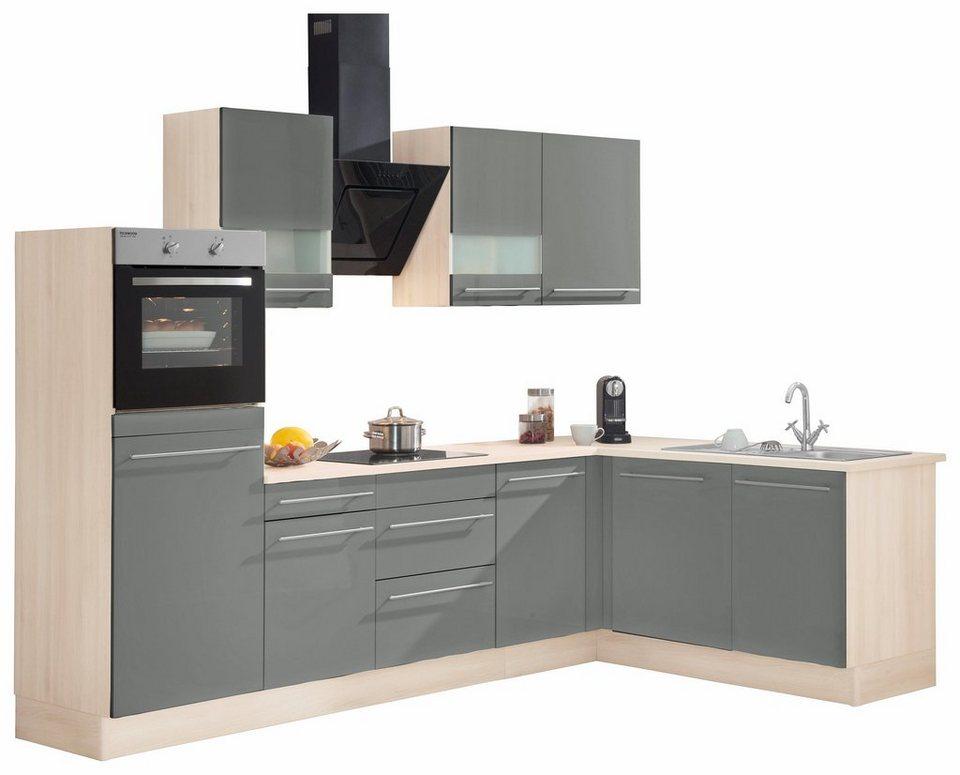 optifit winkelk che mit e ger ten bern stellbreite 285 x 175 cm online kaufen otto. Black Bedroom Furniture Sets. Home Design Ideas