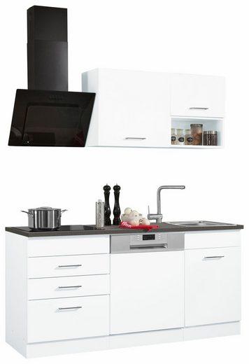 HELD MÖBEL Küchenzeile »Haiti«, mit E-Geräten, Breite 170 cm