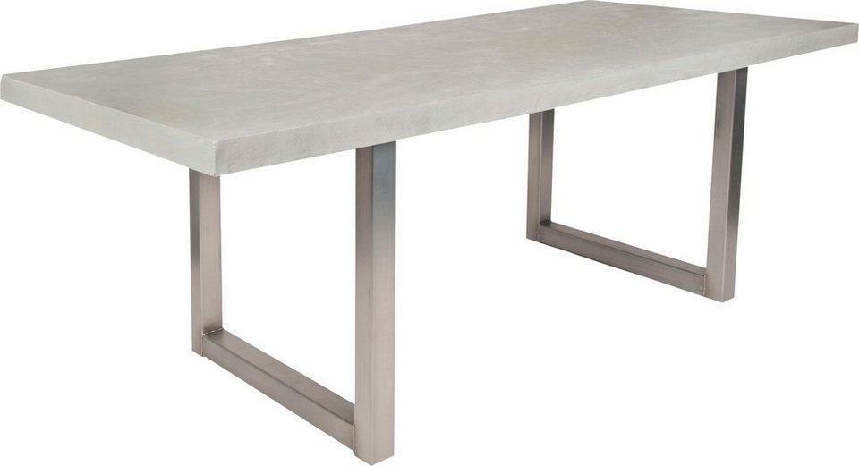 sit esstisch »tops«, mit zement-tischplatte kaufen | otto, Esszimmer dekoo