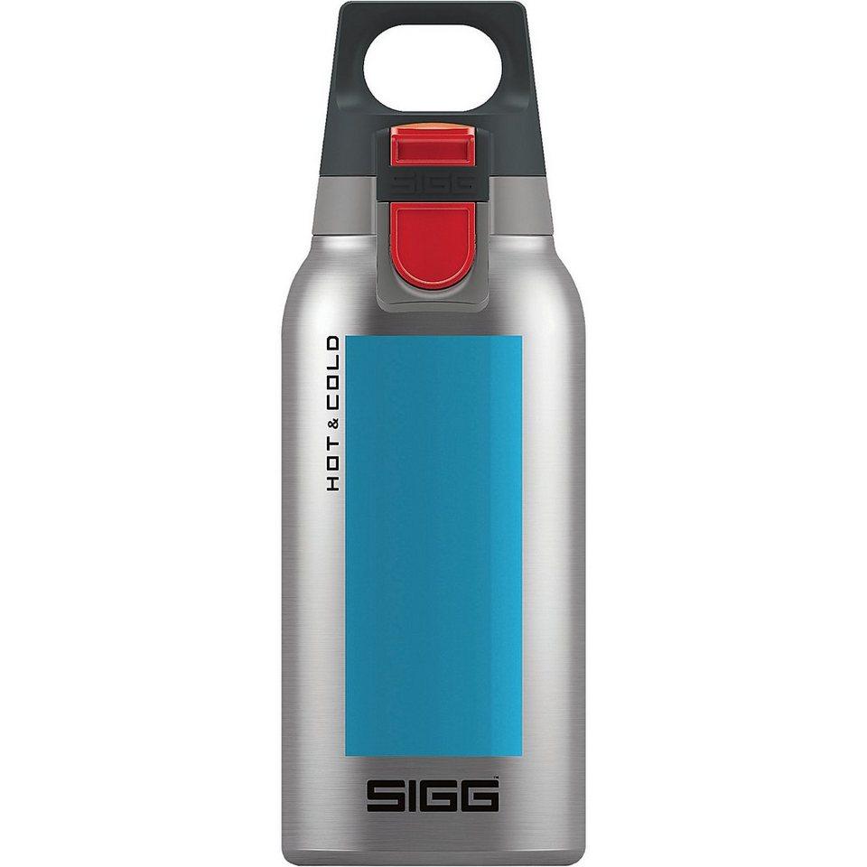 SIGG Trinkflasche Hot & Cold ONE Accent Aqua, 0,3 l in blau