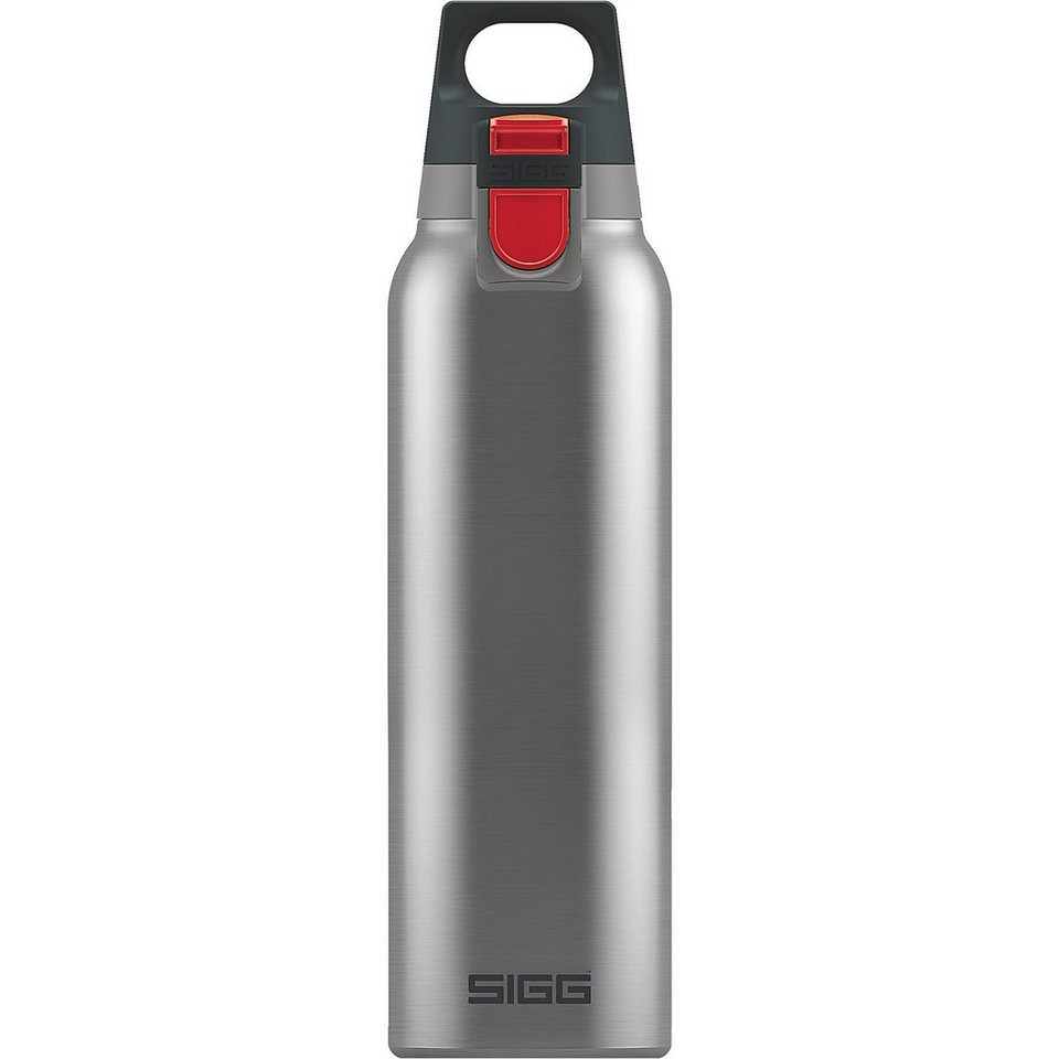 SIGG Trinkflasche Hot & Cold ONE Brushed, 0,5 l in silber