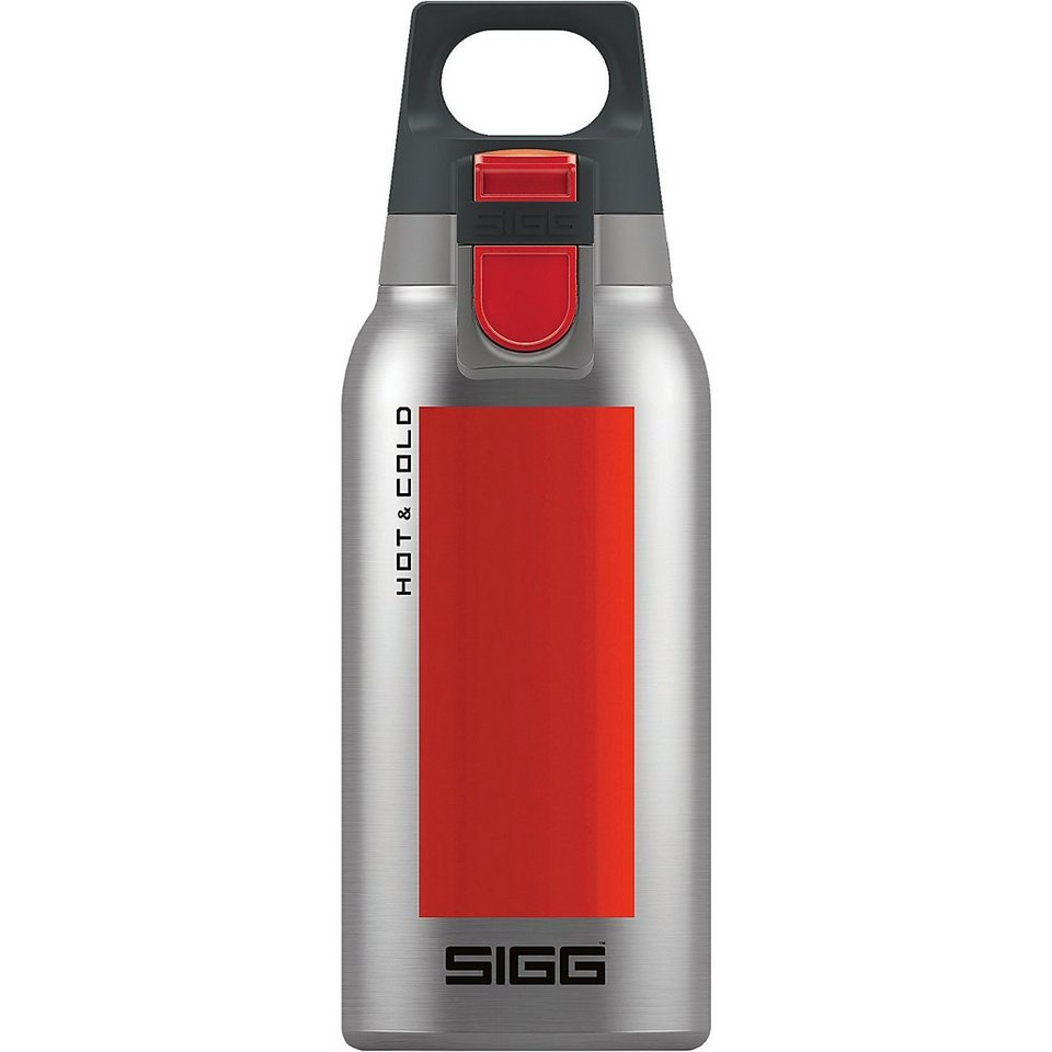 SIGG Trinkflasche Hot & Cold ONE Accent Red, 0,3 l in rot