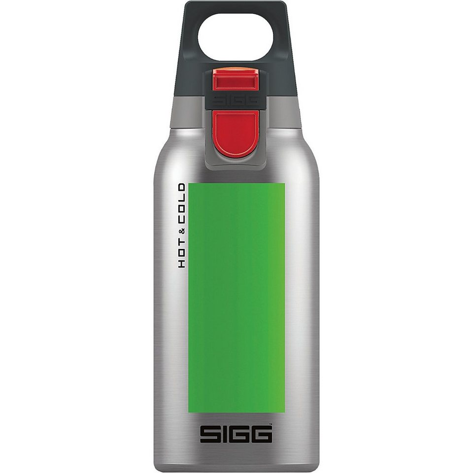 SIGG Trinkflasche Hot & Cold ONE Accent Green, 0,3 l in grün