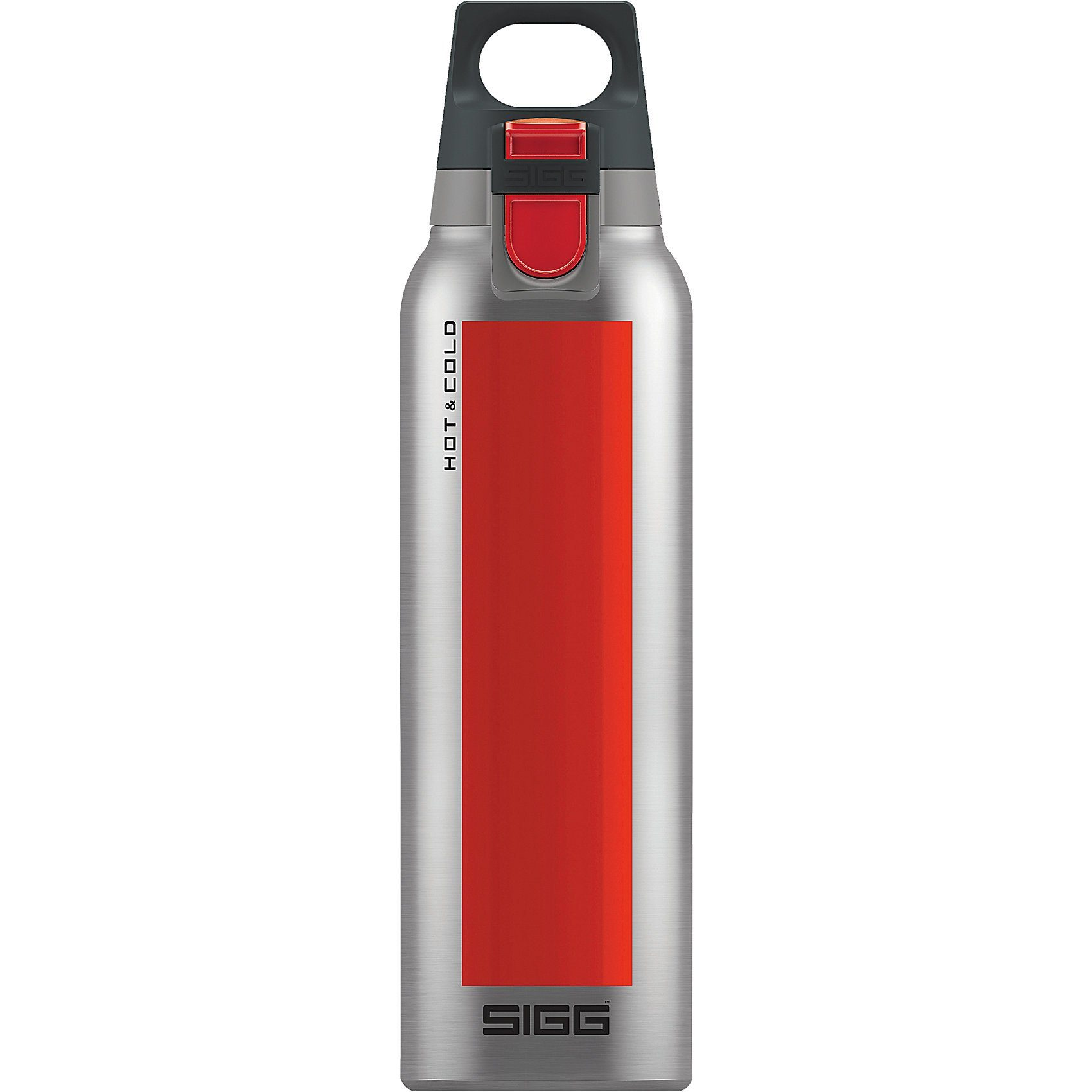SIGG Trinkflasche Hot & Cold ONE Accent Red, 0,5 l