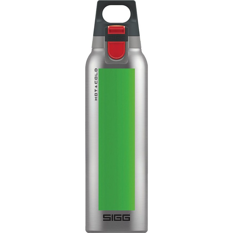 SIGG Trinkflasche Hot & Cold ONE Accent Green, 0,5 l in grün
