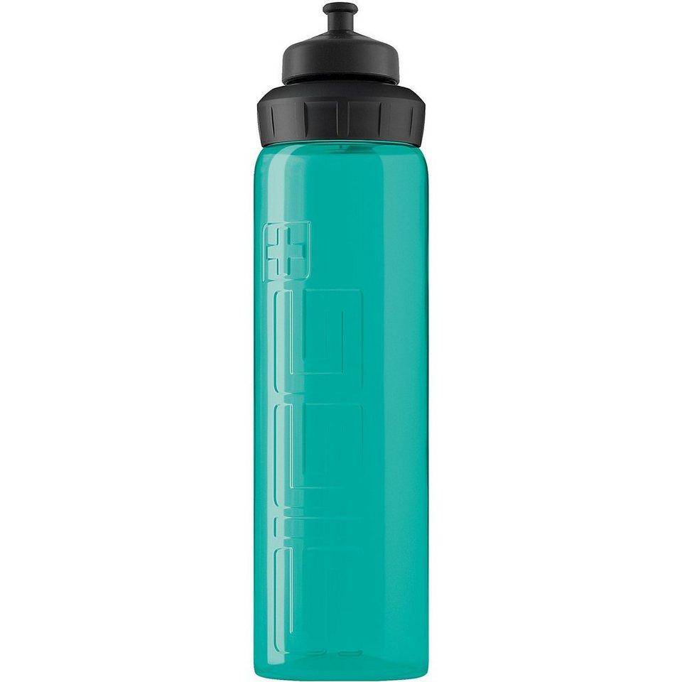 SIGG Trinkflasche VIVA 3-Stage Aqua transparent, 750 ml in blau