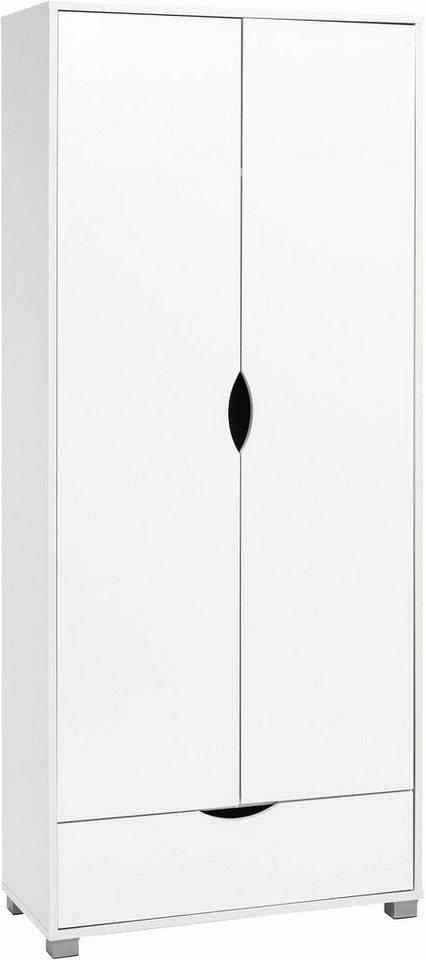 Garderobenschrank »Neva« in weiß-weiß