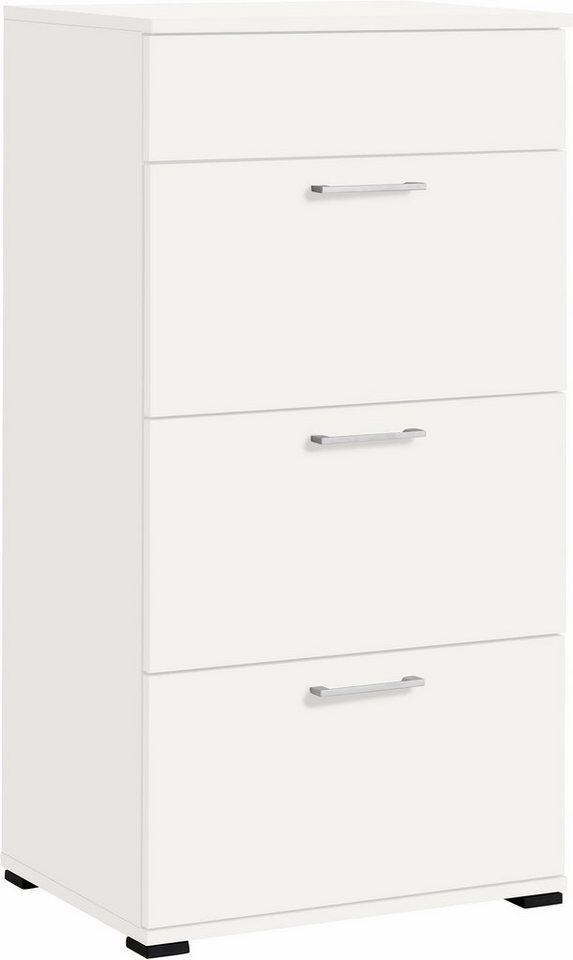 CS Schmal Kommode »Rio«, Breite 66 cm in weiß matt