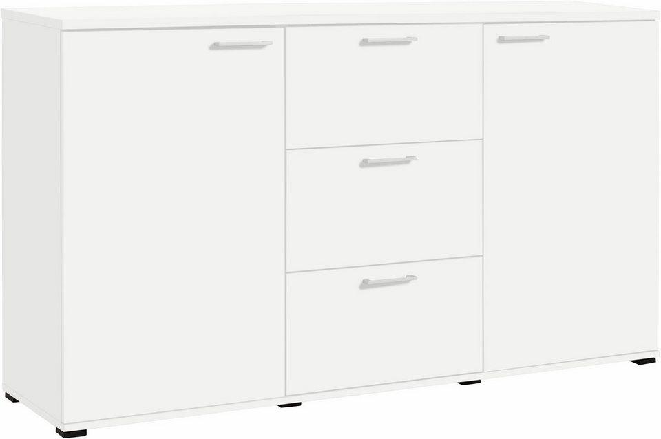 CS Schmal Kommode »Rio«, Breite 180 cm in weiß-weiß matt