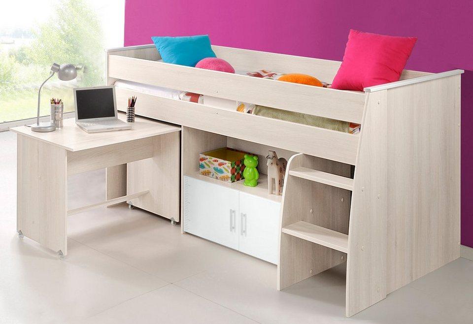 halbhohes bett kerryskritters. Black Bedroom Furniture Sets. Home Design Ideas