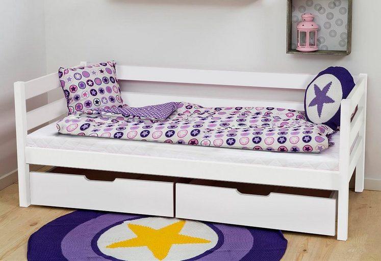 Hoppekids Kinderbett, inklusive Matratze