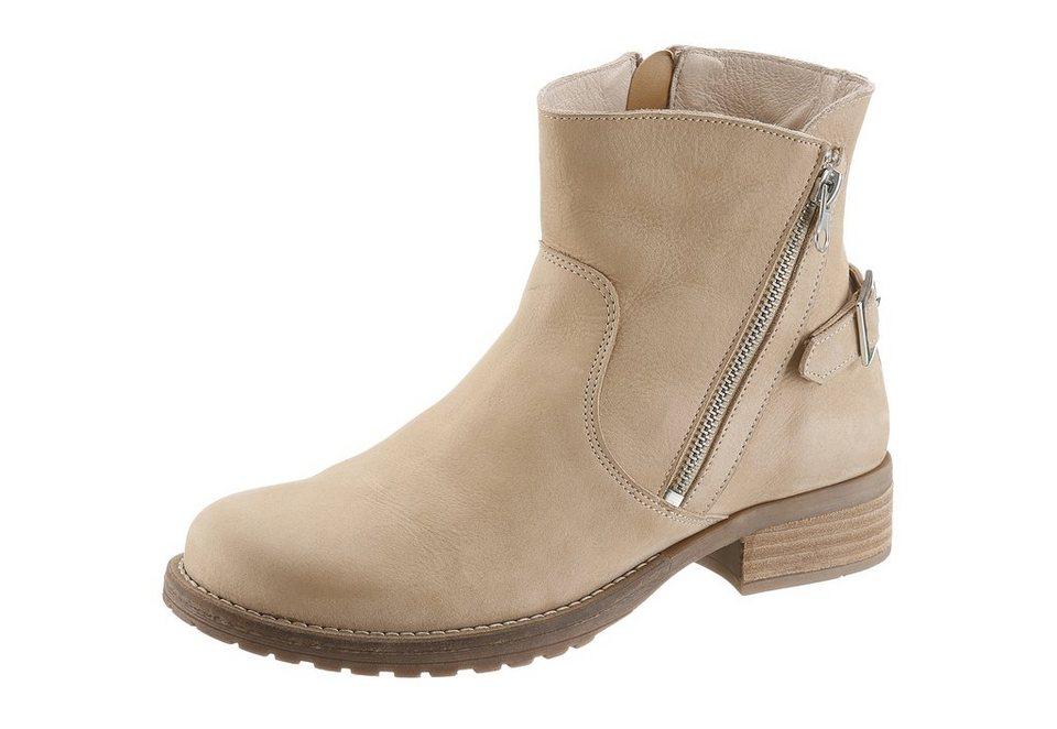 JJ Footwear Boots in komfortabler Weite H in beige