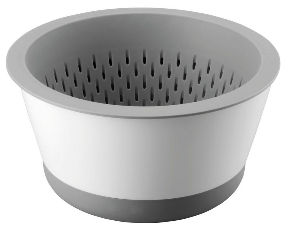 THOMAS Schüssel mit Sieb in grau