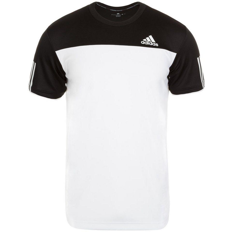 adidas Performance Club Tennisshirt Herren in weiß / schwarz