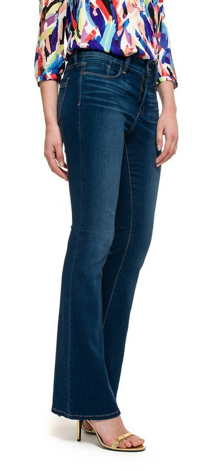 NYDJ Farah Flare Jeans in Echo Valley