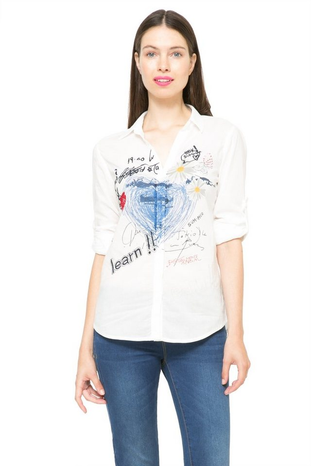 Desigual Bluse »CAM NOTHING« in Weiß