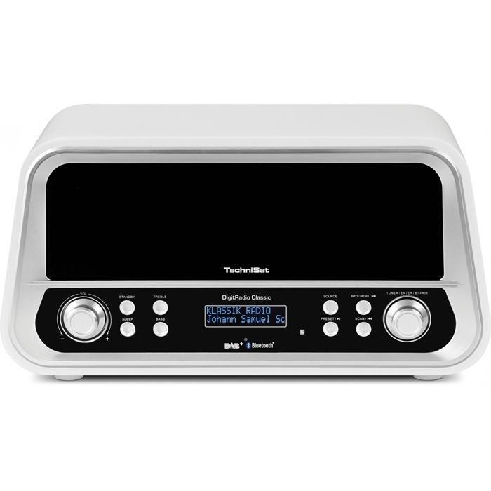 TechniSat DAB+ und UKW Stereo-Digitalradio »DigitRadio Classic« in weiß