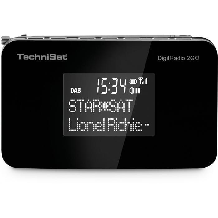 TechniSat Mobiles DAB+ und UKW Radio »DigitRadio 2GO« in schwarz