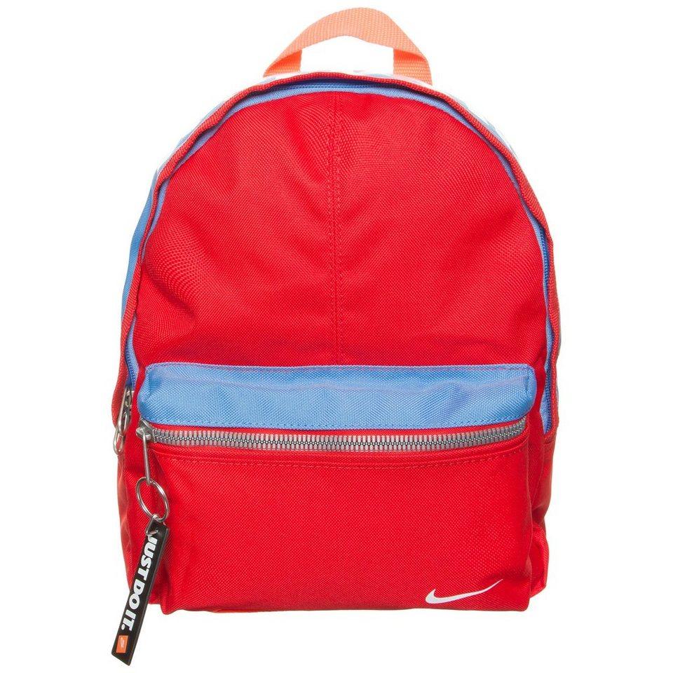 NIKE Classic Rucksack Kinder in rot / blau / weiß