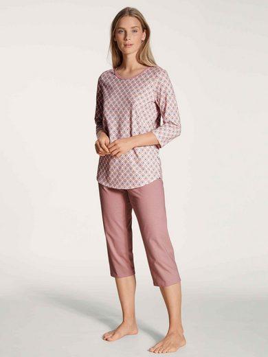 CALIDA Capri-Pyjama »3/4-Pyjama« (2 tlg)