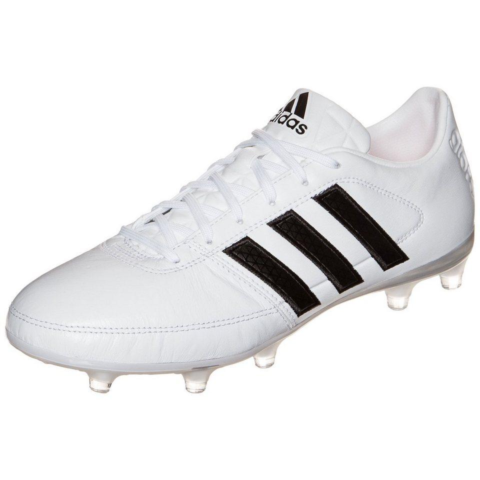 adidas Performance Gloro 16.1 FG Fußballschuh Herren in weiß / schwarz