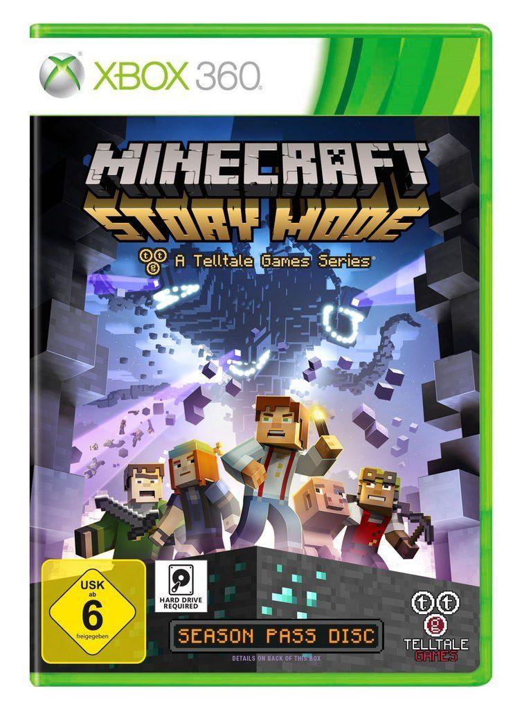 Telltale Games XBOX 360 - Spiel »Minecraft: Story Mode«