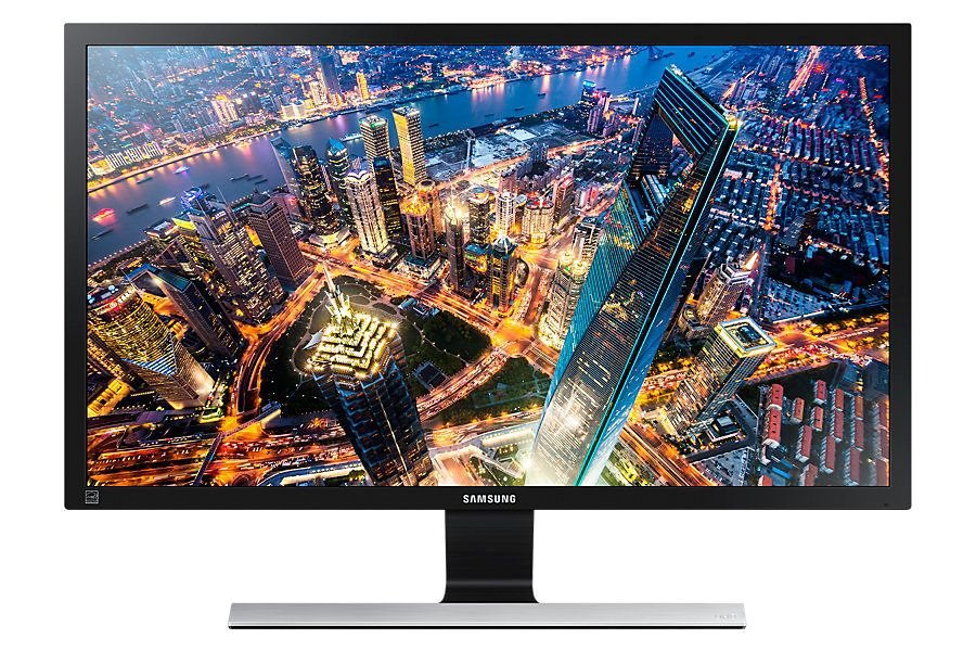 "Samsung U24E590D »59,69 cm (24"") UHD Display« in schwarz"