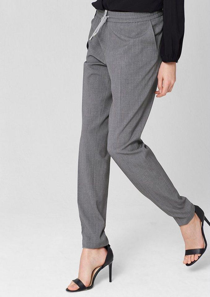 s.Oliver PREMIUM Jogging Pants mit Bügelfalten in pigeon grey