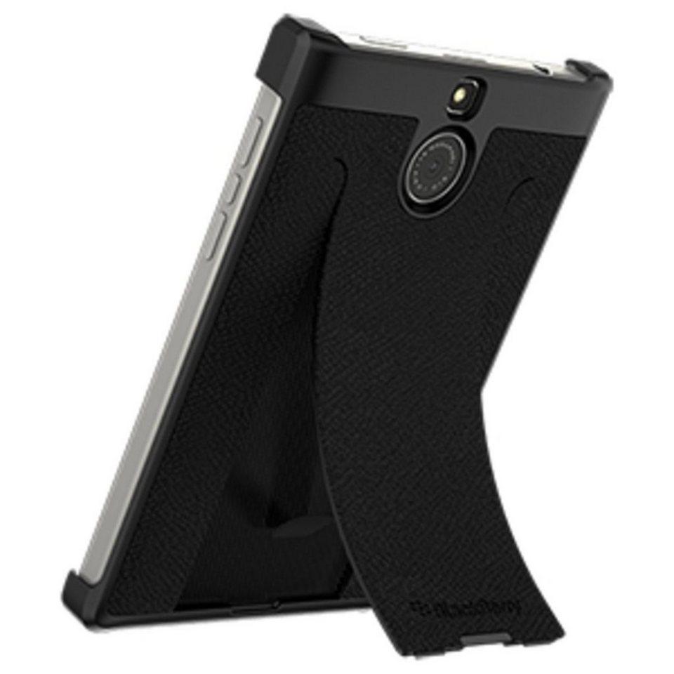 BlackBerry Handytasche »Leather Flex Shell für Passport Silver Edt.« in Schwarz